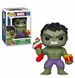 Marvel Comics POP! Marvel Holiday Vinyl Bobble-Head Hulk (Stocking & Plush) 9 cm