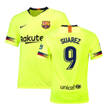 2018-19 Barcelona Away Shirt (Suarez 9) - Kids