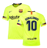 2018-19 Barcelona Away Shirt (Ronaldinho 10) - Kids