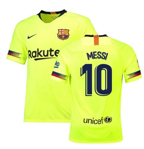 a8f6c7cae Buy Official 2018-19 Barcelona Away Shirt (Messi 10) - Kids