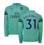 2018-2019 Arsenal Puma Third Long Sleeve Shirt (Kolasinac 31)