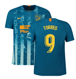 2018-2019 Atletico Madrid Third Nike Football Shirt (Torres 9)