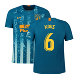 2018-2019 Atletico Madrid Third Nike Football Shirt (Koke 6)