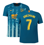 2018-2019 Atletico Madrid Third Nike Football Shirt (Griezmann 7)