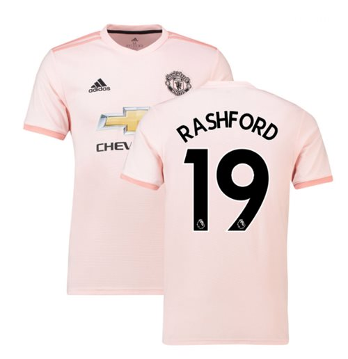 e5caba8d3 Buy 2018-2019 Man Utd Adidas Away Football Shirt (Rashford 19)