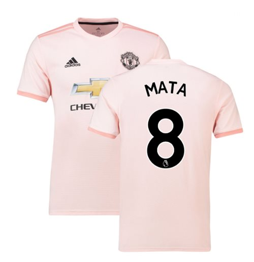6a594998739 Buy Official 2018-2019 Man Utd Adidas Away Football Shirt (Mata 8)