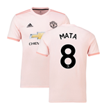 2018-2019 Man Utd Adidas Away Football Shirt (Mata 8)
