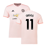 2018-2019 Man Utd Adidas Away Football Shirt (Giggs 11)