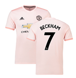 2018-2019 Man Utd Adidas Away Football Shirt (Beckham 7)