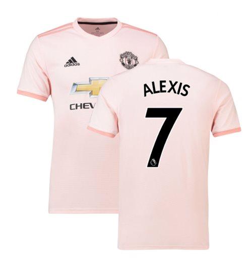 e09b33f8d4b91 Buy Official 2018-2019 Man Utd Adidas Away Football Shirt (Alexis 7)