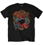 The Rolling Stones: Retro 70S Vibe T-shirt (SOFT-HAND INKS) (Unisex)