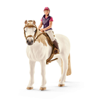 SCHLEICH Horse Club Recreational Rider with Horse Toy Figure