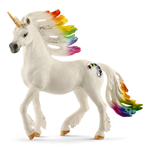 SCHLEICH Bayala Rainbow Unicorn Stallion Horse Toy Figure