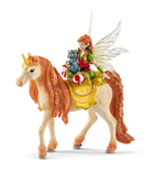 SCHLEICH Bayala Fairy Marween with Glitter Unicorn Toy Figure