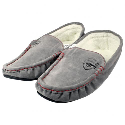 Arsenal F.C. Mens Moccasins 7/8 GR