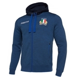 2019 Italy Rugby Hooded Kid's Sweatshirt