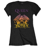Queen Ladies Tee: Gradient Crest