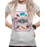 Harry Potter - Honeydukes - Women Fitted T-shirt White