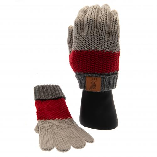 Liverpool F.C. Knitted Gloves Junior