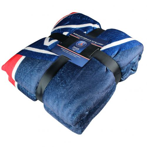 Paris Saint Germain F.C. Sherpa Fleece Blanket