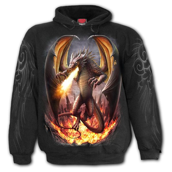 Draco Unleashed - Hoody Black