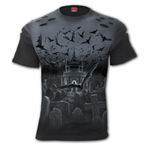 Nightshift - Distressed Spray On T-Shirt