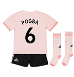 2018-19 Man Utd Away Mini Kit (Pogba 6)