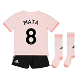 2018-19 Man Utd Away Mini Kit (Mata 8)