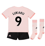 2018-19 Man Utd Away Mini Kit (Lukaku 9)