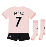 2018-19 Man Utd Away Mini Kit (Alexis 7)