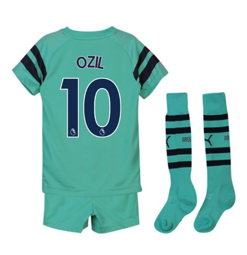 2018-2019 Arsenal Third Little Boys Mini Kit (Ozil 10)