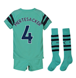 2018-2019 Arsenal Third Little Boys Mini Kit (Mertesacker 4)