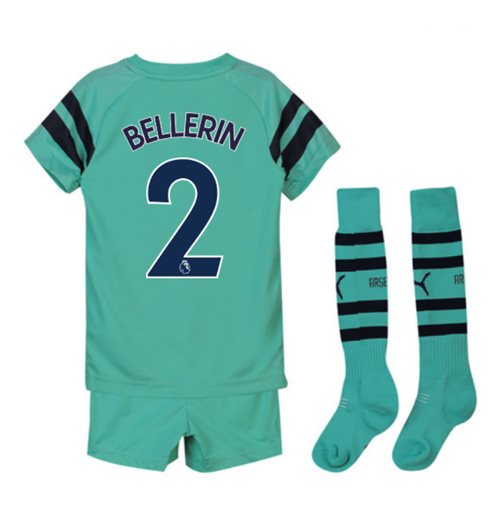 2018-2019 Arsenal Third Little Boys Mini Kit (Bellerin 2)