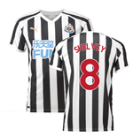 2018-2019 Newcastle Home Football Shirt (Shelvey 8)