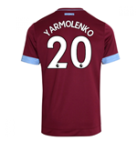 2018-2019 West Ham Home Football Shirt (Yarmolenko 20)