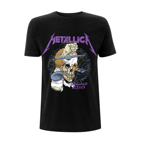 Metallica T-shirt Damage Hammer