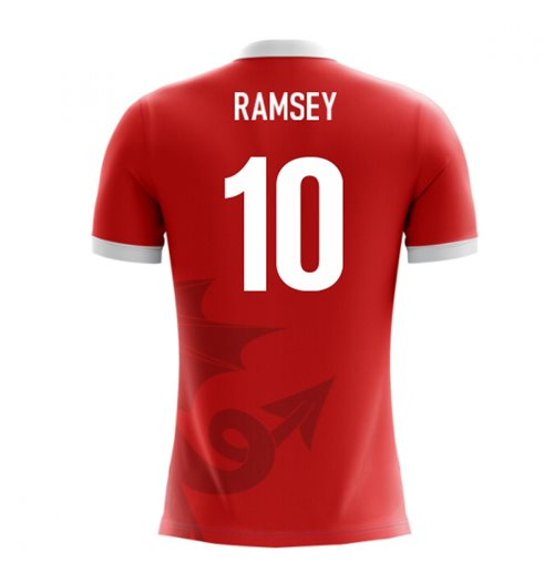 2018-2019 Wales Airo Concept Home Shirt (Ramsey 10)