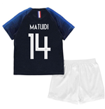 2018-2019 France Home Nike Mini Kit (Matuidi 14)