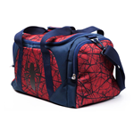 MARVEL COMICS Ultimate Spider-man Logo Duffle Bag, Unisex, Red/Blue