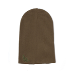 NINTENDO Legend of Zelda Embroidered Royal Crest Logo Slouchy Beanie, Unisex, Brown