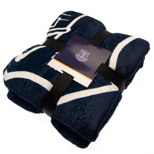 Everton F.C. Sherpa Fleece Blanket