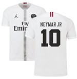 2018-19 PSG Third Shirt White (Neymar Jr 10)