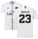 2018-19 PSG Third Shirt White (Draxler 23) - Kids