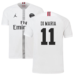 2018-19 PSG Third Shirt White (Di Maria 11) - Kids