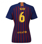 2018-2019 Barcelona Home Nike Ladies Shirt (Xavi 6)