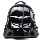 STAR WARS The Force Awakens Darth Vader Mask 3D Shaped Backpack, Unisex, Black
