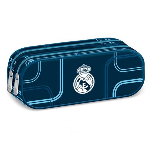 Real Madrid F.C. Double Zip Pencil Case