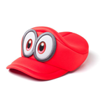 NINTENDO Super Mario Bros. Odyssey Cappy Kids Curved Hat, Unisex, Red
