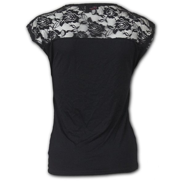 Urban Fashion - Lace Shift Elegant Top
