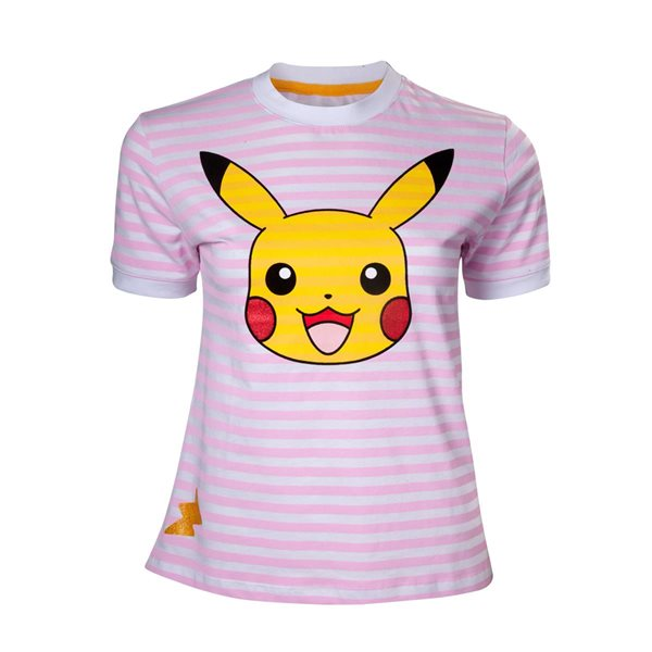 Pokémon - Pikachu Striped Women's T-shirt